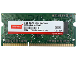 Industrial Standards Memory DDR3 SO-DIMM