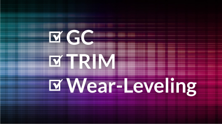RECLine's firmware customization consists of a complete re-design of garbage collection, TRIM and wear-leveling for modern surveillance applications.