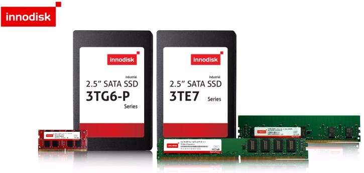 Industrial-grade memory and storage by Innodisk