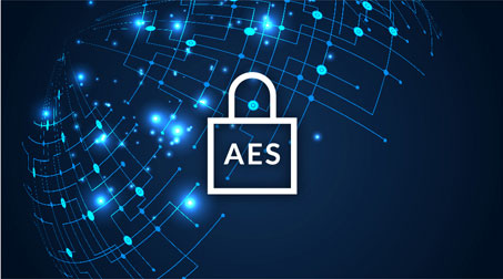 256-bit AES Data Security